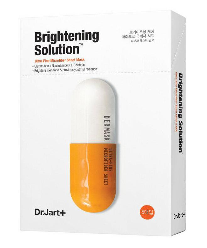 ❤️Dr.Jart+❤️ Dermask Micro Jet Brightening Solution 5 Sheets - $14.26