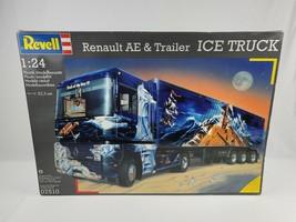 1996 Revell 1/24 Model Renault AE & trailer ICE TRUCK New Open box sealed bags - $186.99