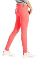 Levi's 710 Women's Premium Super Skinny Jeans Leggings Deep Sea Coral 177780159 image 2