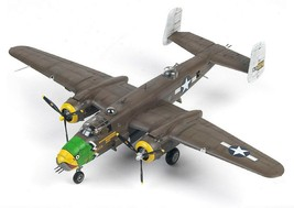Academy 12328 1:48 USAAF B-25D Pacific Theatre Plastic Hobby Model Airplane Kit image 1