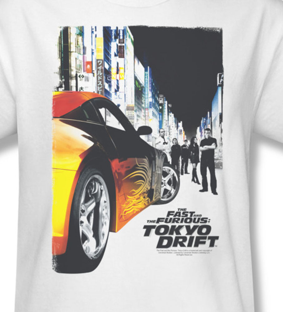 Fast and the furious tokyo drift lucas black for sale online graphic tee 1 uni146 at
