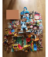Disney Jake And The Neverland Pirates Ship Plate Books Plush Figures +MORE - $59.99