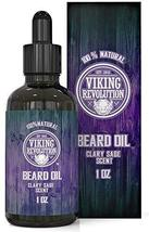 Beard Oil Conditioner - All Natural Clary Sage Scent with Organic Argan & Jojoba image 12
