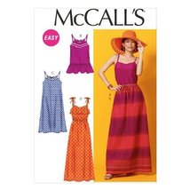 """McCall Pattern Company M6967 Misses' Top, Tunic, Dresses and Skirt, Size E5 """"14- - $15.68"""