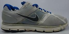 Nike Lunarglide + Taille 12 M (D) Eu 46 Homme Chaussures Course Gris Bleu