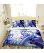 3D Long-Haired Girl P43 Japan Anime Bed Pillowcases Quilt Duvet Cover Acmy - $50.46+