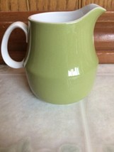 Mikasa LIME COLOR Cera-Stone Creamer Japan Oven to Table to Dishwasher - $11.30