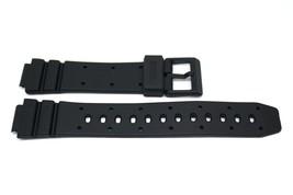 2 Pieces 14MM Black Rubber Watch Band Strap Fits Casio TGW-10 W-60U AE-30W W-95 - $9.89