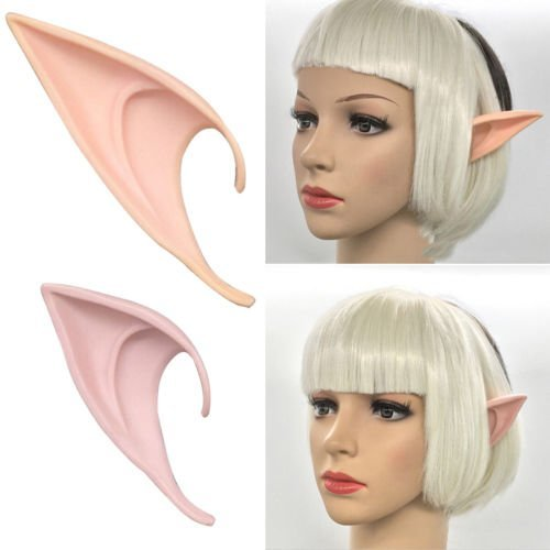 Yeahgoshopping Long Prosthetic Fairy Pixie Elf Ear Halloween Costume Cosplay Sta