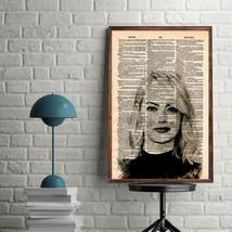 Celebrity Art Prints-Emma Stone Art Print-Movie Art Print-Emma Stone-Hom... - $11.82