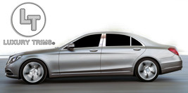 Mercedes S Class W222 Stainless Chrome Pillar Posts by Luxury Trims 2014... - $69.80