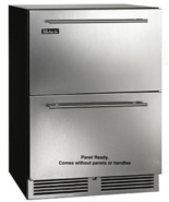 """Perlick C-Series HC24RB-3-6 24"""" Built-In Undercounter Refrigerator Drawers - $1,975.99"""