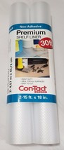 Nuovo Pacco da 2 - Rotoli Con-Tact Premier Non Adesivi Shelf Liner 9.1m M - $27.49