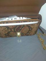 New Calvin Klein Snake Lock Shoulder Bag python-print crossbody H9DES9ZF $248.00 image 5