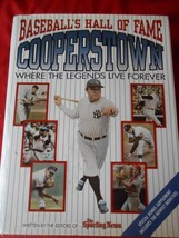 "BASEBALL Book- COOPERSTOWN  Hall of Fame ""Where Legends Live Forever""...... - $11.88"