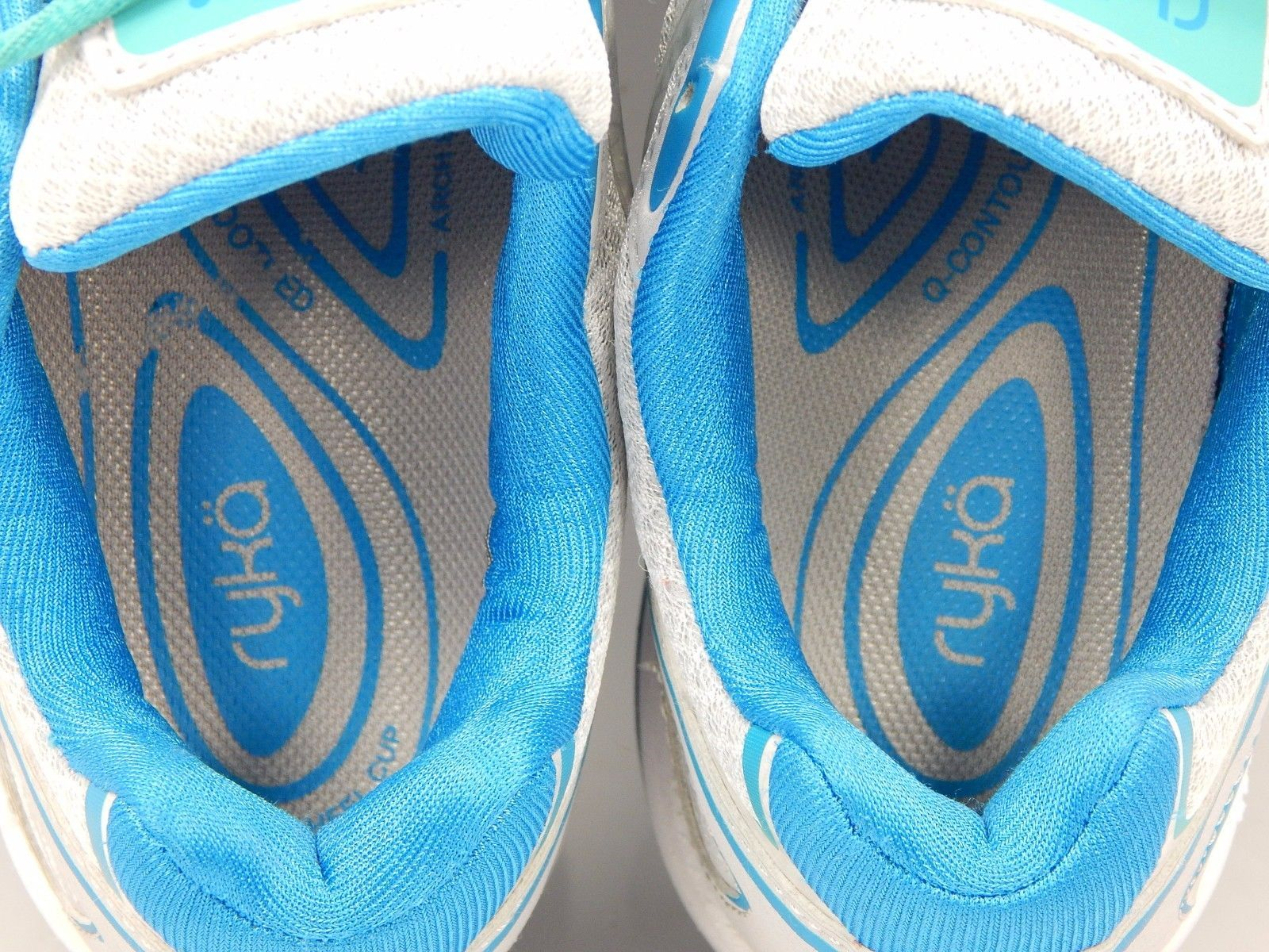 Ryka Devo Plus Women's Running Shoes Size US 8.5 M (B) EU 39.5 Silver Blue