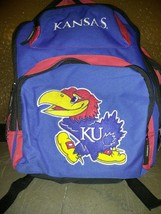 Kansas University Jayhawks NCAA Concept One Vinyl Backpack embroidered logo - ₹1,828.67 INR