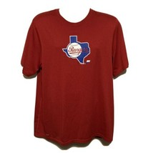 Texas Rangers Men's Large T-Shirt Nike Dri-Fit MLB Baseball - $24.42