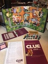 2006 Parker Brothers Clue Dvd Board Game Complete - $15.44
