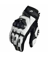 Motorcycle Gloves Genuine Leather Summer Winter Road Racing Team Hands Gear - $14.20+