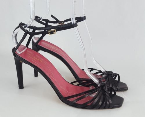 1cbaaa707fc0 Kate Spade Sandals 11 Black Strappy Heels and 50 similar items. 12