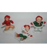 LEFTON *3* Children Figurines G Barnes - P Hendley - K Banks  #551 - $45.00