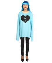 Adult Men's My Heart Is Broken Long Sleeve Costumes | Lt. Blue Halloween... - $18.85