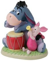 takasho Disney Garden Statue Music Corps Piglet Yo Japan F / S Plush Doll - $67.00