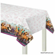 Spirit Riding Free Tablecover Party Tablecloth Birthday Decoration Horse... - $6.88