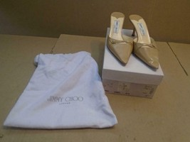 Jimmy Choo Kid Camel Race Womens Shoes Size 37.5 Us Size 6.5 (( - $93.49