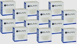 (12 100ct BOXES) 1200 BUNN Coffee Tea Filters Home Brewer 8-10 Cup Maker... - $40.40