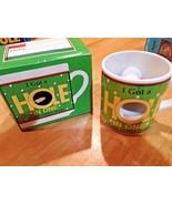 """Ganz  unique """" I got a hole in one """" coffee mug for that golfer NEW - $9.89"""
