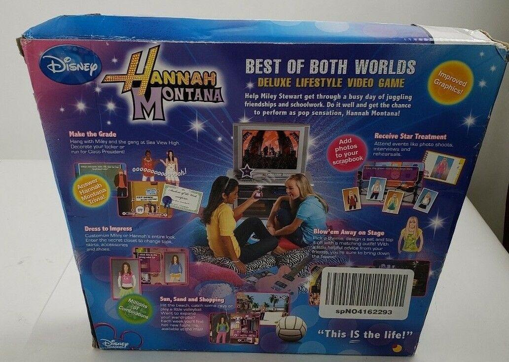 2007 Disney Jakks Pacific HANNAH MONTANA Plug & Play TV Games New In Box