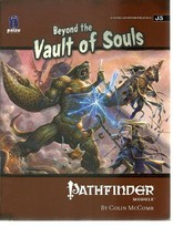 Beyond the Vault of Souls - Pathfinder Module - SC - 2009 - PZO9519 - $3.72