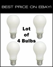 (Lot of 4) Sylvania 60W Soft White Dimmable LED Light Bulb 78036-4 CHEAPEST! - $12.50