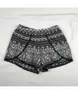 Jessica Simpson Women's XS Black White Shorts - $18.79