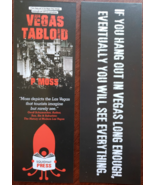 Lot of 2 Vegas Tabloid P Moss Promo Bookmark, new - $3.95