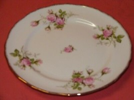 "2 Canonsburg Moss Rose 10 1/8"" Dinner Plates  22 K  Brushed Gold Trim  - $19.95"