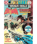 The Brave and the Bold Comic Book #120, DC Batman and Kamandi 1975 VERY ... - $14.98