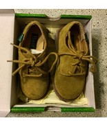 Baby Bass Tan Bucky II 2 Boys Shoes Size 8 M Leather 6547-261 With Box - $16.87