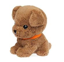Panda Superstore Creative Gifts Soft Lovely Dog Plush Toy Brown - $33.21