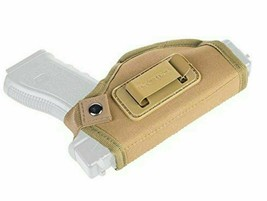 TYC TAQ GS UNIVERSAL IWB HOLSTER CONCEALED CARRY MILITARY GRADE CLIP CA... - $15.85