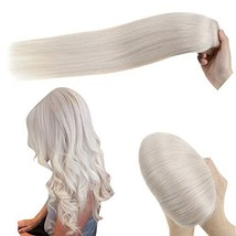 [10% Off] Hetto Clip in Hair Extensions Human Hair One Piece(5 Clips Hair Extens