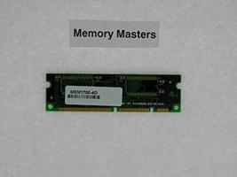 MEM1700-4D 4MB Approved DRAM Memory for Cisco 1700 Series(MemoryMasters)