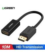 UGREEN® 4K Displayport DP To HDMI Adapter 1080P Display Port Cable Conve... - $8.18