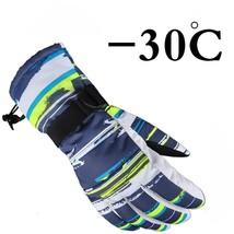 Mens Ski Gloves Winter Warm Waterproof Snowboard Snow Thermal Women Wind... - $15.95