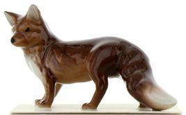 Hagen Renaker Miniature Wildlife Fox Family Mama, Papa & Baby 3 Piece Set image 5