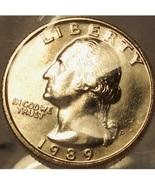 1989-P Washington Quarter BU In the Cello #0875 - $9.99