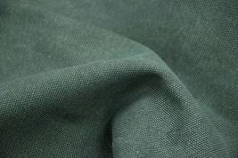 43'' Wide Handworked Fabric Thick Canvas Fabric Green (17.5*43 Inches)