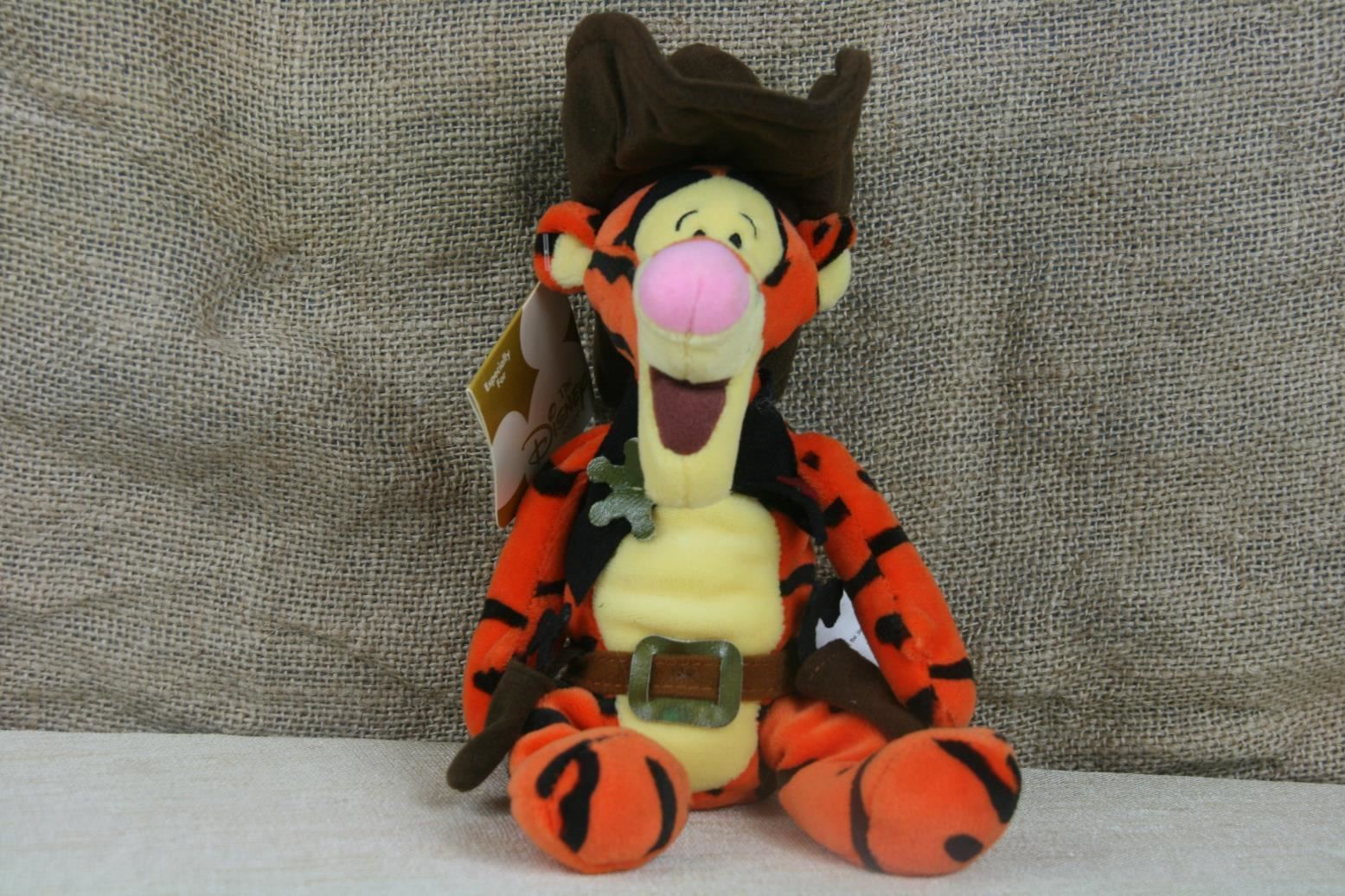 6054538433a063 The Disney Store Winnie The Pooh Tigger Western Cowboy Sherrif Plush WITH  TAGS. - $9.29 · Advanced search for Disney Store Beanie Babies